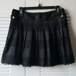 Tommy girl mini skirt in Black